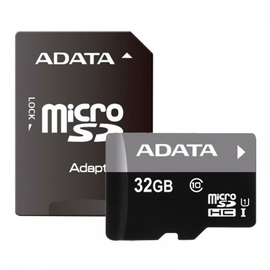 К памяти A-Data Micro SD 32Gb Class10UHS+adapt